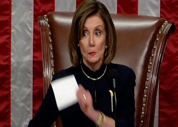 بيلوسي تتجه لإحالة اتهامي ترامب إلى مجلس الشيوخ لبدء محاكمته
