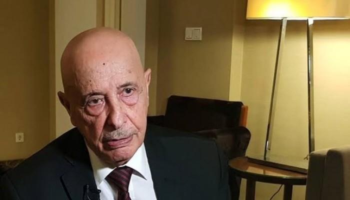 عقيلة صالح يعلن انهيار اتفاق وقف إطلاق النار بليبيا
