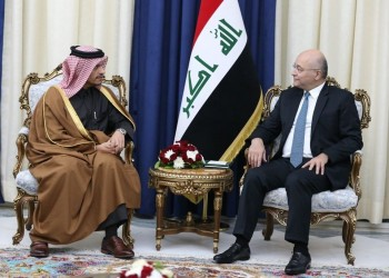 قطر والعراق يؤكدان ضرورة الحل السلمي لأزمات المنطقة