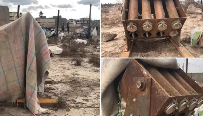 العراق.. العثور على منصة إطلاق الصواريخ ضد السفارة الأمريكية