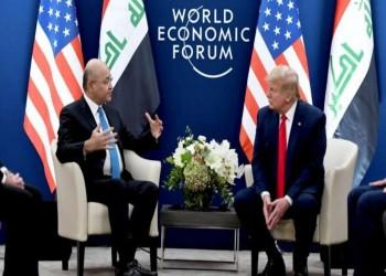 ترامب يتعهد بمواصلة التعاون مع العراق عسكريا
