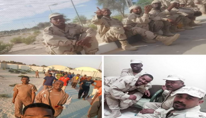 خداع إماراتي يدفع شبانا سودانيين للقتال في ليبيا واليمن (شاهد)