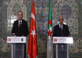 الجزائر تتفق مع تركيا على تأسيس مجلس تعاون رفيع المستوى