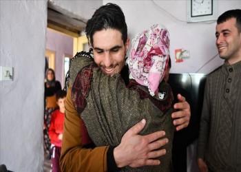 لقاء مؤثر لبطل سوري بعائلة تركية أنقذها عقب الزلزال