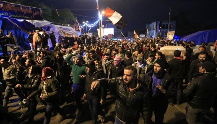 قتلى وجرحى في هجوم أنصار الصدر على ساحة الاعتصام بالنجف