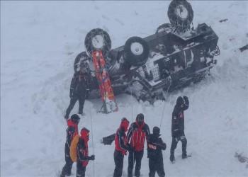 تركيا تعلن ارتفاع ضحايا الانهيارات الثلجية إلى 33 شخصا