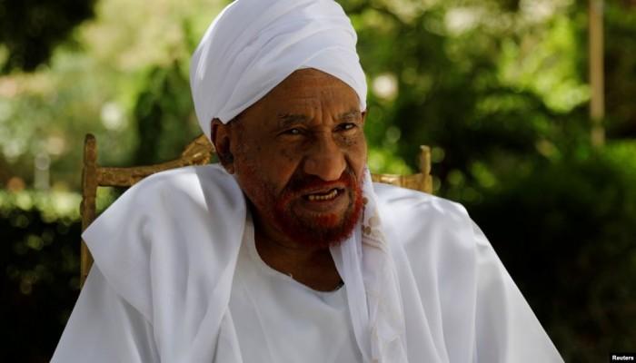 الصادق المهدي: رفع العقوبات عن السودان بمساعدة إسرائيل وهم كبير
