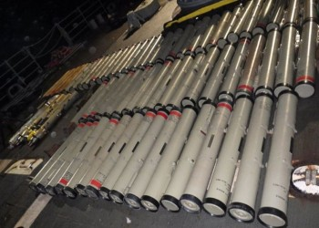 أمريكا تصادر 150 صاروخا إيرانيا بسفينة في بحر العرب (فيديو)