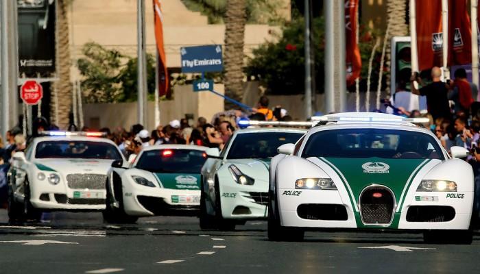 الإمارات تطلق أول دورية ذكية متصلة بشبكة الجيل الخامس