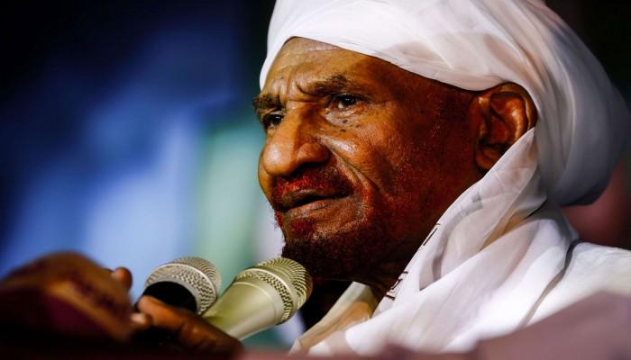 الصادق المهدي: التطبيع مع إسرائيل خيانة الآن.. ولن يفيد السودان