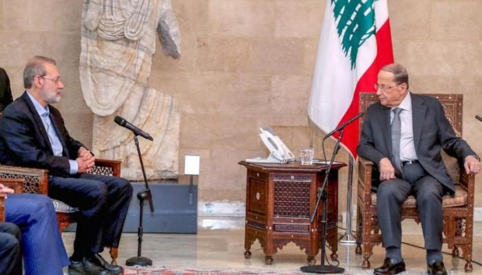 متحديا الخليج.. لبنان يستقبل رئيس برلمان إيران