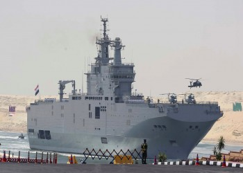 بعد افتتاحها.. تدريب بحري مصري فرنسي قرب قاعدة برنيس