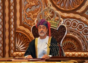 آل سعيد يتعهد بالمضي على خطى قابوس: عمان ستبقى ناشرة للسلام