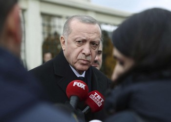 أردوغان يعلن مقتل جنديين تركيين في ليبيا