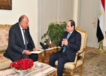 وزير الخارجية المصري يحمل رسائل من السيسي لقادة عرب