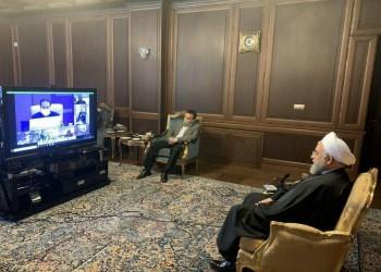 روحاني يظهر بدون كمامة إثر أنباء إصابته بكورونا