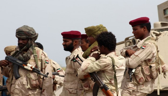 السعودية تدفع 64 مليون دولار شهريا لجنود السودان باليمن
