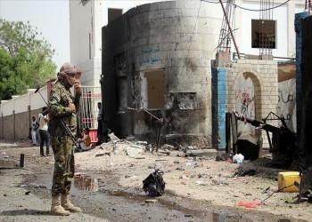 انفجار يستهدف رتلا عسكريا سعوديا في عدن