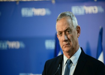 جانتس وزيرا لدفاع إسرائيل قبل أن يتولى رئاسة الوزراء