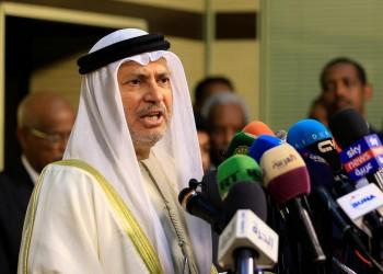 قرقاش يرفض اتهام وزير خارجية اليمن للإمارات بزعزعة الأمن