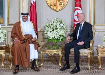 الأمير تميم يجدد دعوته للرئيس التونسي لزيارة قطر
