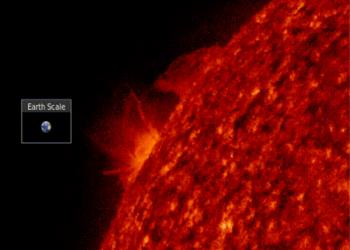 لقطة مذهلة تسجل أقوى انفجار للشمس منذ 3 سنوات
