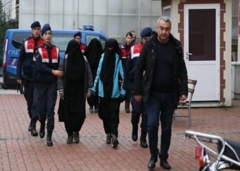 تركيا تضبط مطلوبتين للإنتربول لانتمائهما لتنظيم الدولة