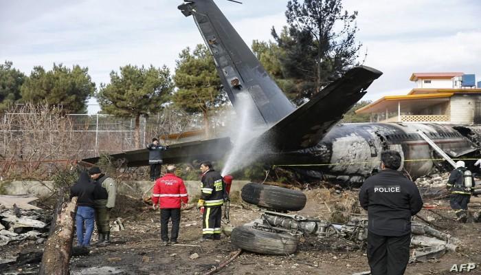 بطلب إيران.. فرنسا تفرغ تسجيلات الطائرة الأوكرانية المنكوبة
