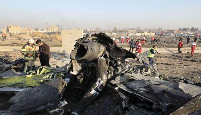إيران: جندي أطلق صاروخا نحو الطائرة الأوكرانية دون إذن