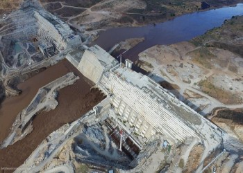صور التقطتها أقمار صناعية تظهر تجمعا للمياه قرب سد النهضة