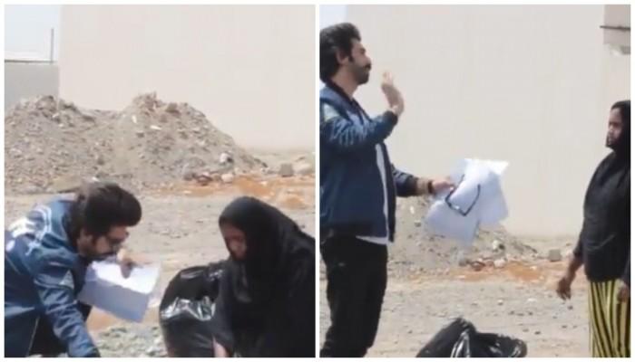 شرطة عمان توقف ناشطا شهيرا بعد مقلب في خادمة