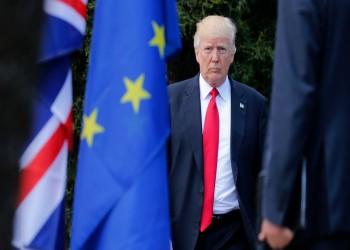 ترامب: الاتحاد الأوروبي تأسس للاستفادة من أمريكا
