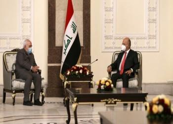 ظريف يبحث مع صالح والكاظمي المستجدات الإقليمية والدولية
