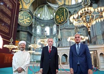 أردوغان: إعادة آيا صوفيا كمسجد ميلاد جديد للأمة