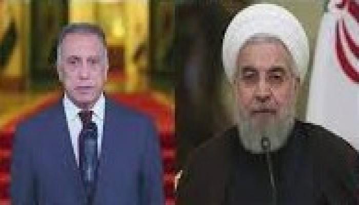 روحاني يبحث مع الكاظمي اعتراض مقاتلة أمريكية لطائرة ركاب إيرانية