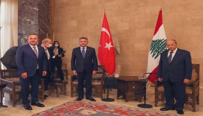 نائب أردوغان من بيروت: مستعدون لتقديم كل الدعم للبنان