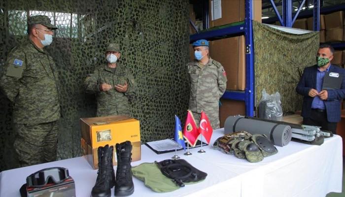 معدات عسكرية بقيمة 743 ألف دولار منحة تركية لكوسوفو