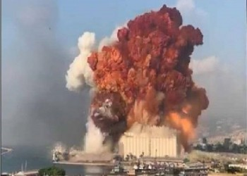 حول انفجار بيروت