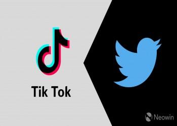 تويتر حاول عقد صفقة للاستحواذ على تيك توك