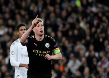 البلجيكي دي بروين لاعب الموسم في الدوري الإنجليزي