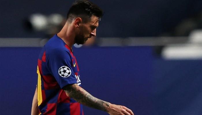 عبر الفاكس.. ميسي يطلب رسميا من برشلونة فسخ تعاقده