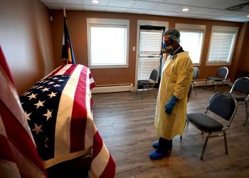 وفيات كورونا بأمريكا تتجاوز 180 ألف حالة