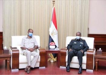 رئيس مجلس السيادة السوداني يزور إريتريا بصحبة وفد أمني
