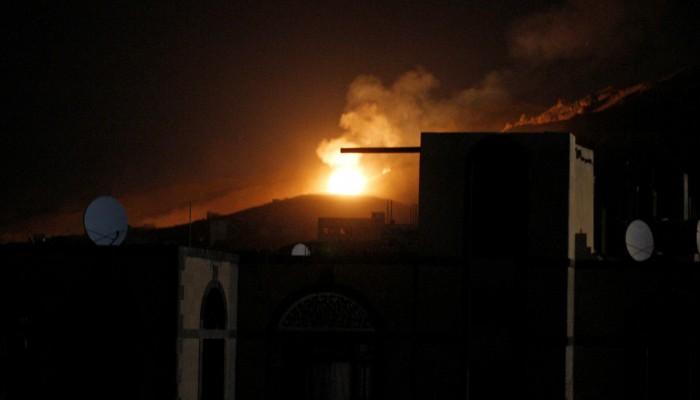 غارات سعودية جديدة على صنعاء.. ومصادر: استهدفت معسكرات حوثية