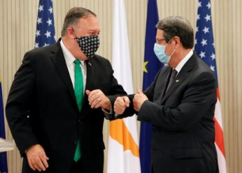 بومبيو: الولايات المتحدة قلقة من تحركات تركيا بشرق المتوسط