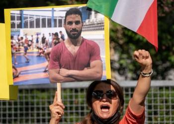 واشنطن تندد بإعدام إيران للرياضي نافيد أفكاري