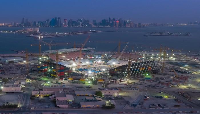 مونديال قطر 2022.. الكشف عن ملامح أول استاد يمكن تفكيكه (صور)