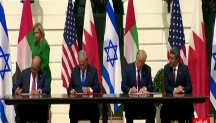 رسميا.. الإمارات والبحرين توقعان اتفاقيتي التطبيع مع إسرائيل