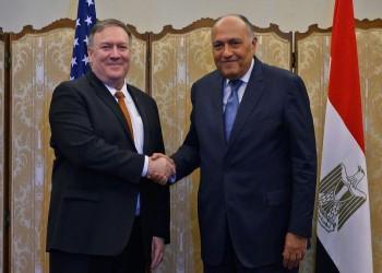 شكري وبومبيو يبحثان هاتفيا العلاقات الثنائية والأزمة الليبية