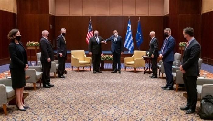 بومبيو: ندعم بقوة الحوار بين اليونان وتركيا